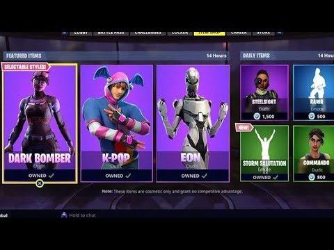 fortnite new item shop