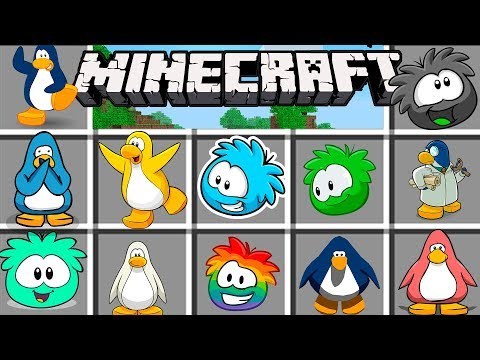 Minecraft | CLUB PENGUIN ha llegado como nunca antes...