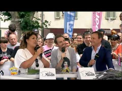 Christophe Willem - Village Départ Tour de France - 14.07.12