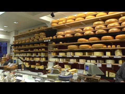 Голландия Супер! Покупаю сыр в магазине! Полный цикл! Неймеген, Nijmegen. Нидерланды (Netherlands).