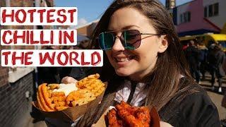 London Food Tour   Hot Sauce Festival   England Road Trip Travel Vlog 19