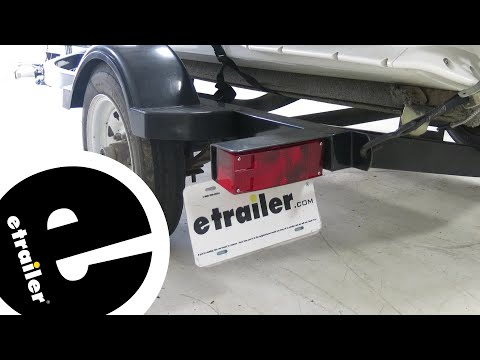 Wesbar Submersible Low Profile Driver Side Trailer Tail Light Installation - etrailer.com