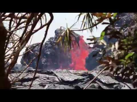 KILAUEA LAVA FLOW BIG ISLAND HAWAII - 5/24/18
