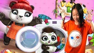 Fun Cute Pet Care Games - Panda Lu Baby Bear Care 2 - Babysitting Pet Care Dress Up Games For Kids