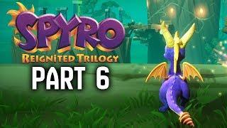 SPYRO REIGNITED TRILOGY Walkthrough Part 6 - 100% Tree Tops / Metalhead & Beast Makers