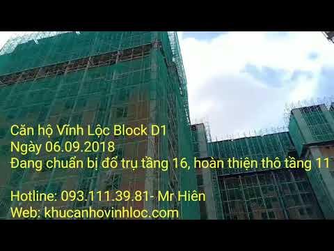 Căn hộ Vĩnh Lộc Block D1 ngày 06.09.2018