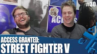 Access Granted: Street Fighter V Challenge!