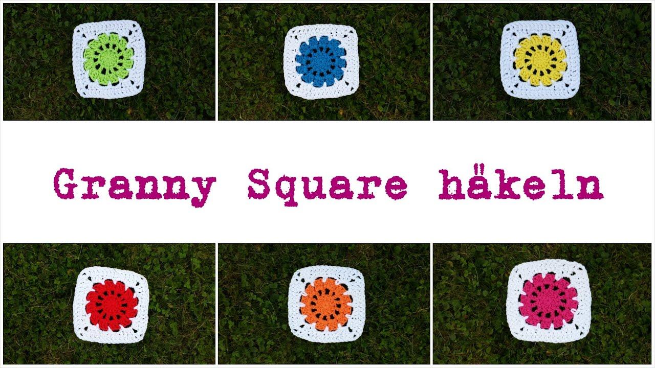 granny squares h keln anleitung biggistubee youtube. Black Bedroom Furniture Sets. Home Design Ideas