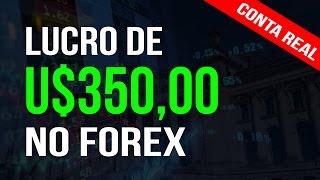 RESULTADOS REAIS - Lucro de U$350,00 no Forex com Estratégia Camarilla