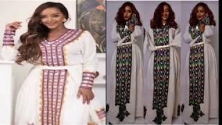 Ethiopia:Modern Ethiopian  Traditional Dresses