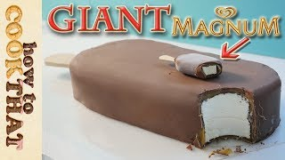 Giant Magnum Double Caramel Icecream Cake How To Cook That Ann Reardon