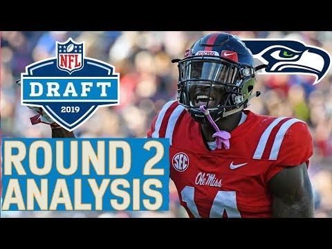 Round 2 Player Highlights & Pick Analysis  2019 NFL Draft