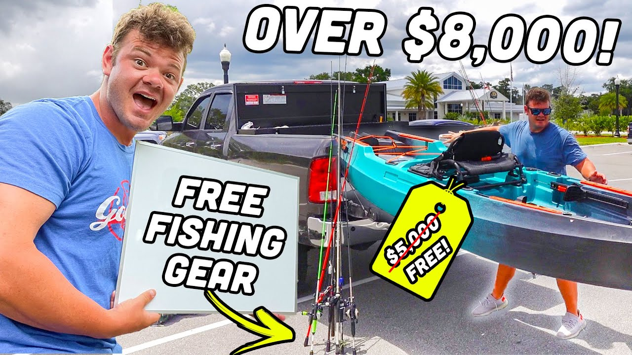 World's First FREE Fishing Store! (Everything MUST GO!!)