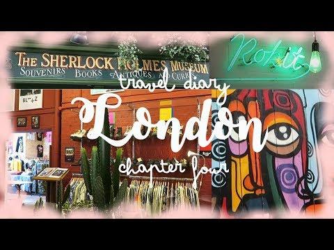 vintage shopping & sherlock museum II london travel diary chapter 4