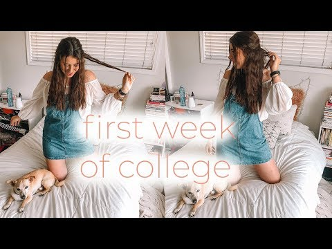 week in my life | first week of college csuf!