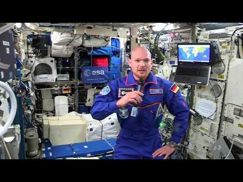 Erste Pressekonferenz von der ISS mit Alexander Gerst / horizons