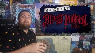 Murder at Blood Mansion - Kickstarter Board Game Review