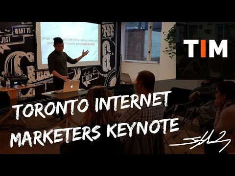Toronto Internet Marketers Jay Wong Keynote | How To Start A Podcast