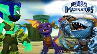 Skylanders Imaginators - 35 Minutes Gameplay With Toys for Bob (and Thumpback)