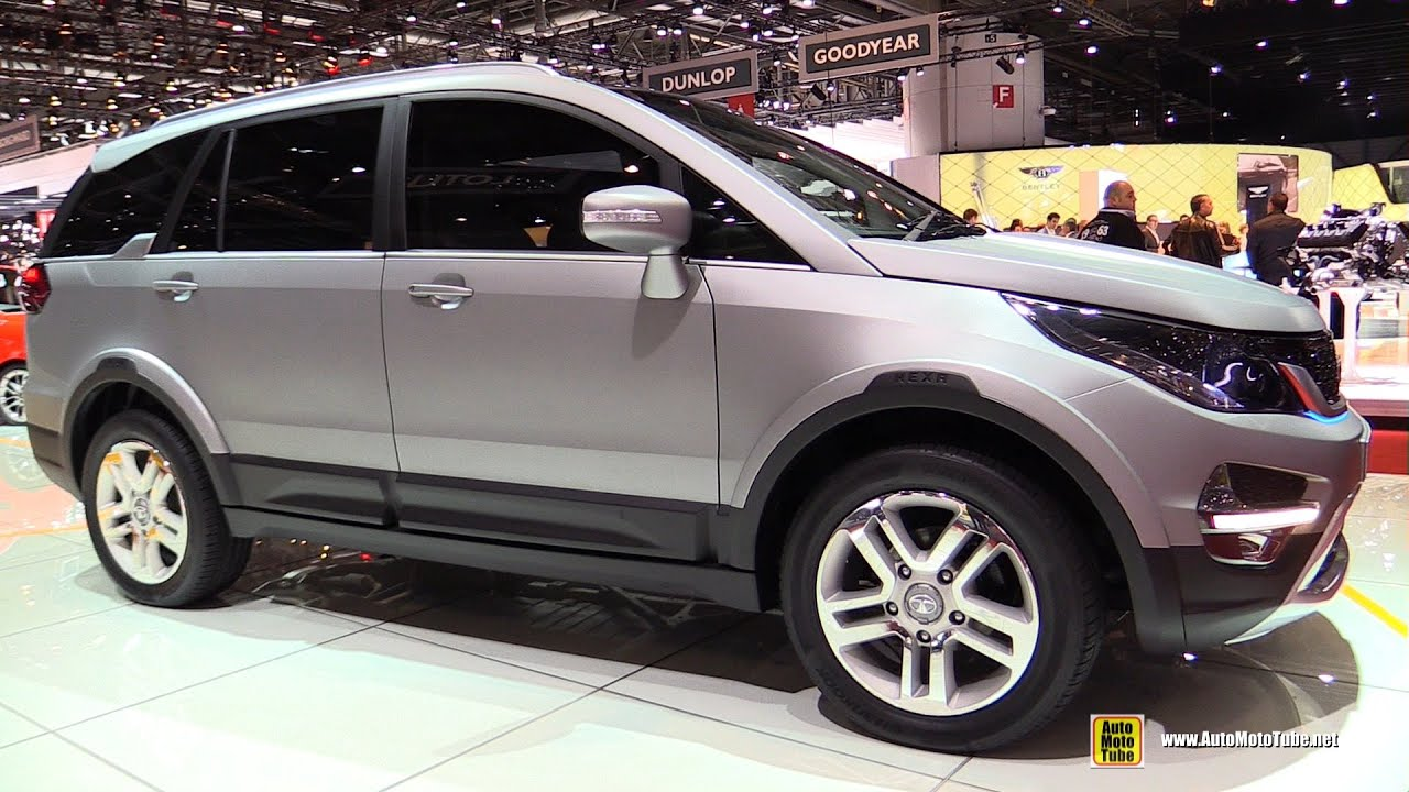 Tata Hexa Concept - Exterior and Interior Walkaround ...