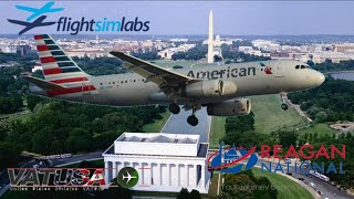 FSlabs A320 on Vatsim USA Independance Day Preparty in D.C