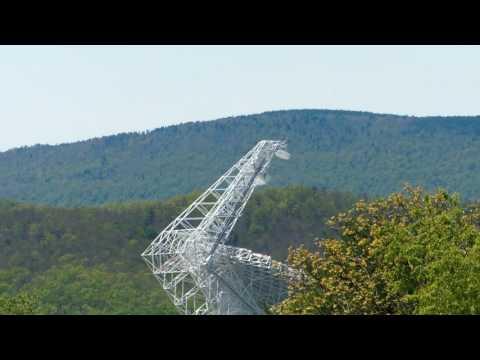 Worlds largest radio telescope - Green Bank, West Virginia