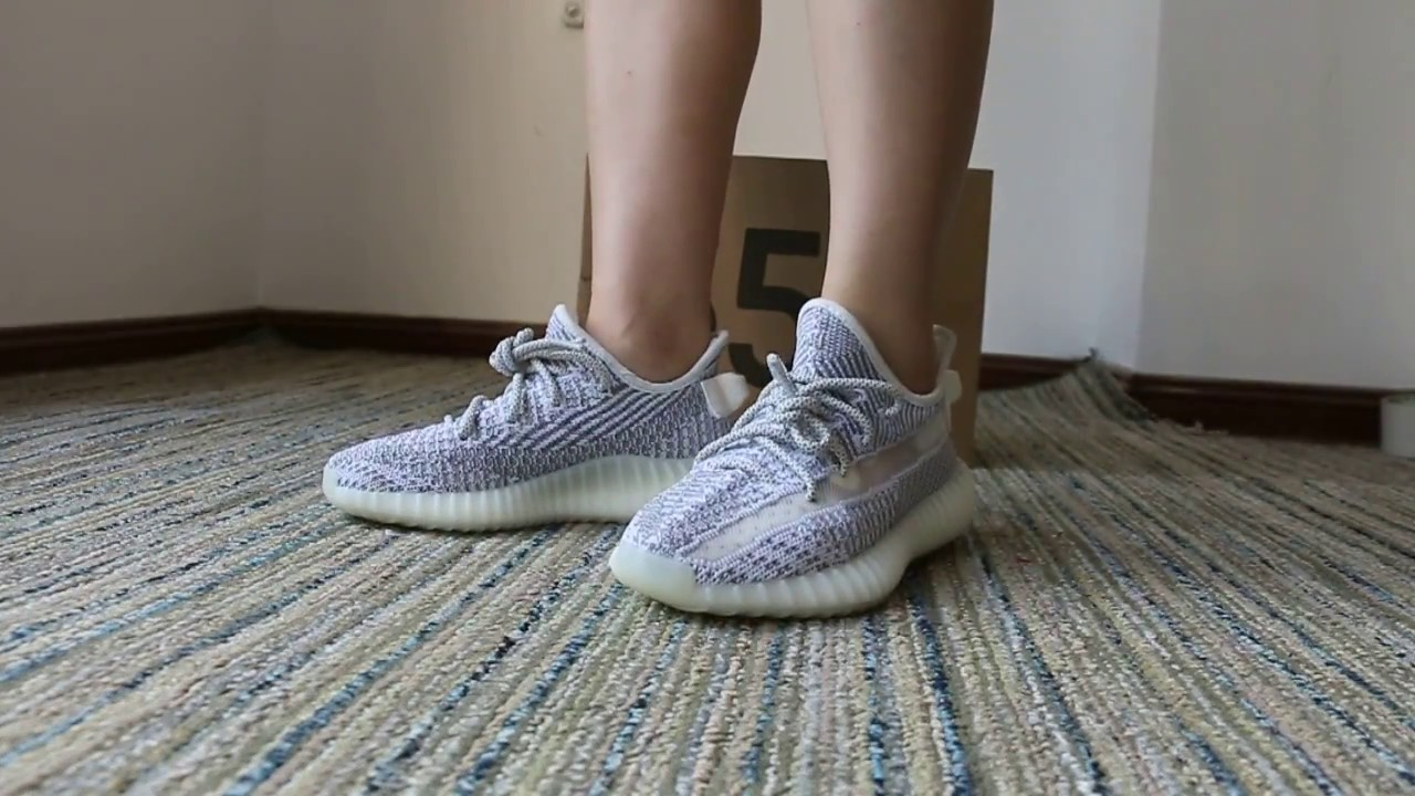 yeezy static on feet 2018 YEEZY 350 V2 STATIC ON FOOT HD Review
