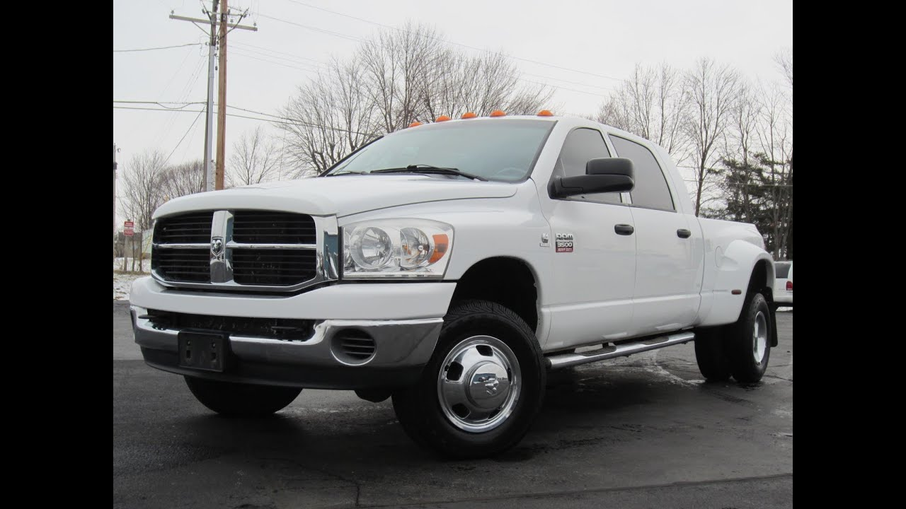 2008 dodge ram 3500 mega cab 6 speed cummins 4x4 sold youtube. Black Bedroom Furniture Sets. Home Design Ideas