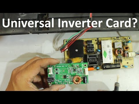 How To Install Universal Inverter Card In LED/LCD TV