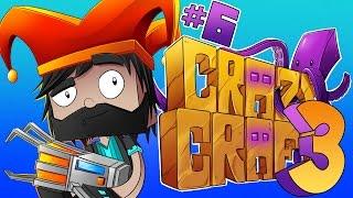 EIGHT KRAKENS?!?! [#6] | Minecraft : Crazy Craft 3.0 SMP