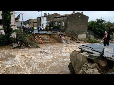 فيضانات وسيول جارفة جنوب فرنسا تخلف 11 قتيلا على الأقل  - نشر قبل 56 دقيقة