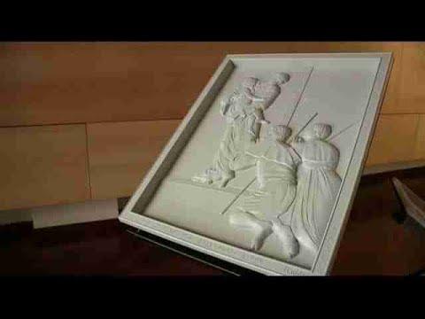 video: el arte de caravaggio se puede sentir con las manos