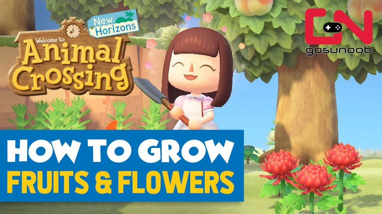 How To Grow Fruits Flowers Animal Crossing New Horizons Guide