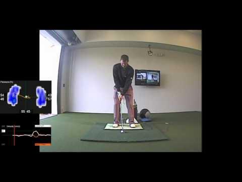 Jeff Pierce quick analysis on Wedge Play [V1 Pro HD + BodiTrak]