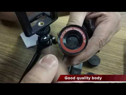 Apexel 4 in 1 Lens Kit Unboxing, Hands on, Lens On, Preview