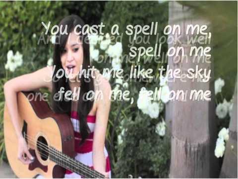 Megan Nicole- Glad You Came w/ Lyrics (On Screen)