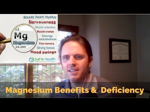 Magnesium Benefits and Magnesium Deficiency - Podcast #128