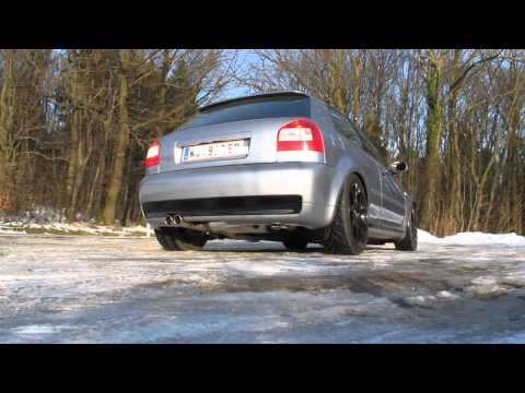 audi s3 8l gt28rs 3 exhaust with bypass valve. Black Bedroom Furniture Sets. Home Design Ideas