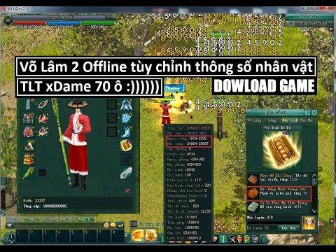 Dowload VLTK2 Offline Tùy Chỉnh Thông Số Game Bằng Code Bá đạo