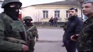 Разговор Украинских военных с Российскими солдатами в Феодосии