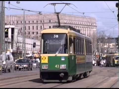 HELSINKI TRAMS 1994