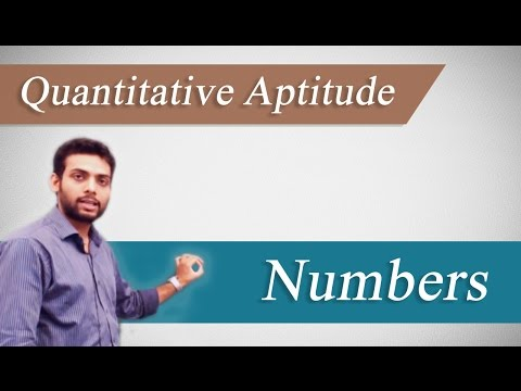 Top  Quantitative Aptitude Tips &Tricks (GRE, CAT, GMAT, IBPS, Bank : Numbers by Mr. Vibhu Anurag