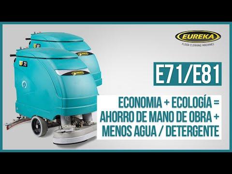 E71 / E81 - FREGADORAS DE PAVIMIENTOS ACOMPAÑADAS