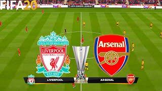 FIFA 20 | Liverpool vs Arsenal - UEFA Europa League - Full Match & Gameplay