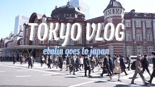 Tokyo Vlog part.2  Tokyo Station!!!  l EVALIN