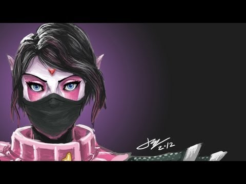 видео: templar assassin  гайд дота 2 (lanaya).