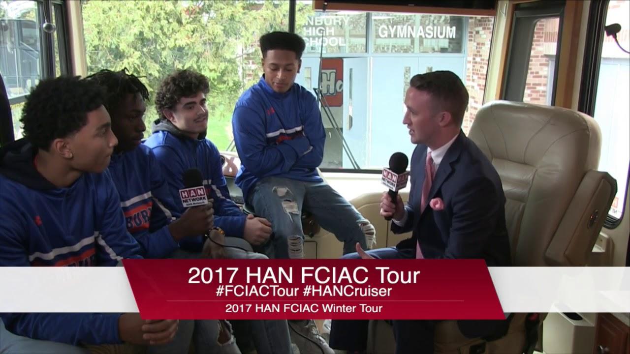 HAN Network FCIAC Winter Sports Tour 2017-18: Danbury High School Boys  Basketball Team