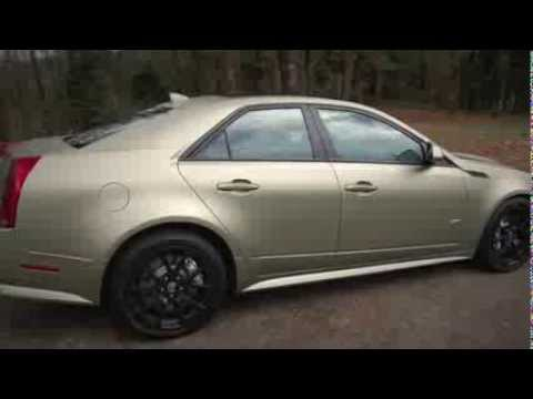 Cadillac Cts V Plasti Dipped Youtube