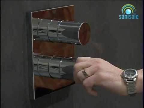 Hervorragend Grohe Grohtherm - 3000c inbouw comfortset met vierkant roset  DN61