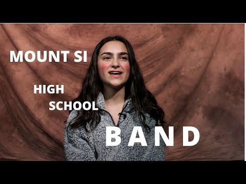 Mount Si High School Band Promo Video 2020